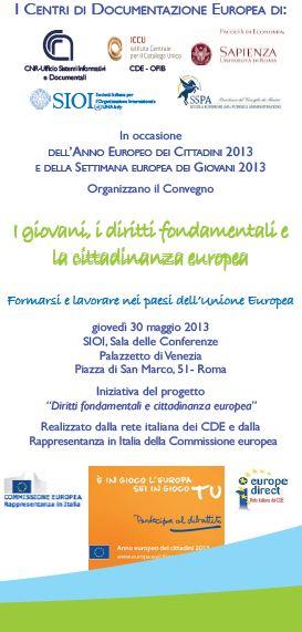 I giovani, i diritti fondamentali e la cittadinanza europea
